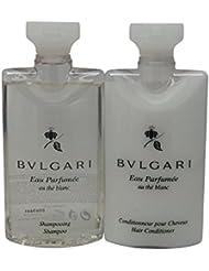 Bvlgari White Tea au the blanc Shampoo & Conditioner. Lot of 6(3 of each) Total of 15oz.
