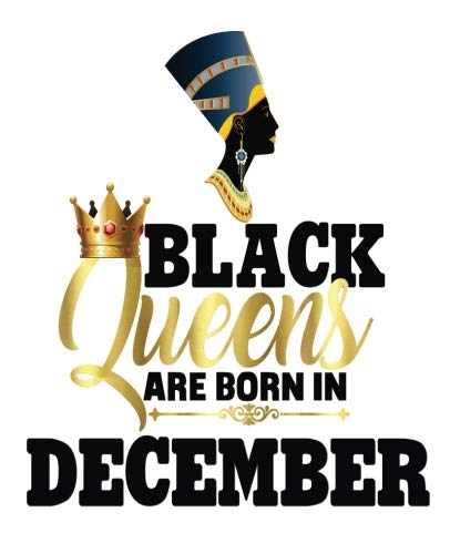 (Black Queens Are Born In December: Black Girl Magic Sagittarius Birthday Egyptian Queen Half and Half Paper Blank College Ruled Notes Sketch Math ... NYC - Half and Half Journal)