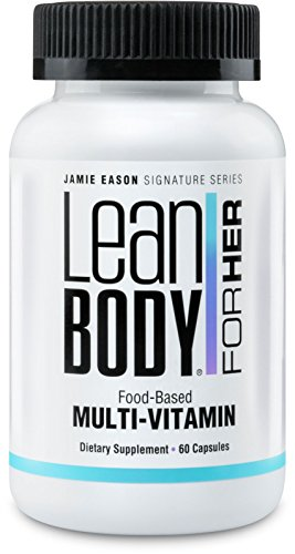 Labrada Nutrition Jamie Eason Lean Body for Her, Food Based Multi Vitamins, Picamilon or Pikatropin Free, 60 Count