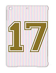 Number 17 Miscellaneous Sports Protective Hard Case For Ipad Air Brown