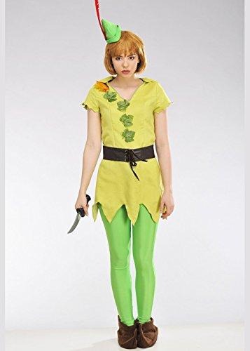 Magic Box Traje de Peter Pan para Mujer Small (UK 8-10 ...