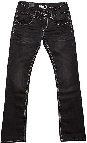 M.O.D Jeans NATALIE MOD paxi griffin schwarz, Grösse:W27/L34