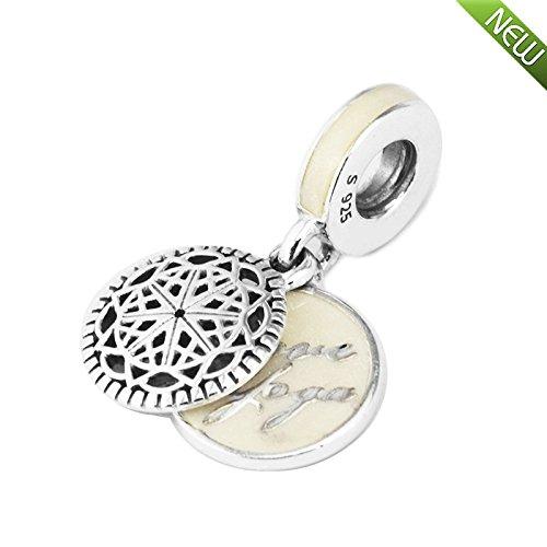 PANDOCCI 2017 Otoño True Yoga Charm Beads 925 Sterling ...