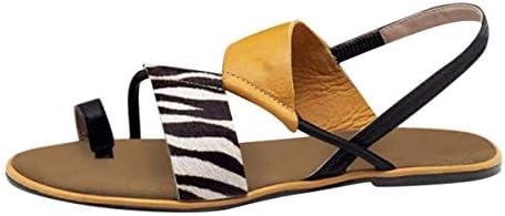 Thenxin Women`s Slingback Flat Sandals Colorblock Clip Toe Slip On Summer Beach Shoes / Thenxin Women`s Slingback Flat Sandals Colorblock Clip Toe Slip On Summer Beach Shoes