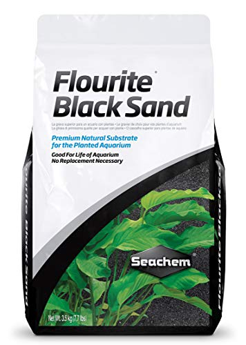 Flourite Black Sand, 7 kg / 15.4 lbs (Planted Tank Substrate)