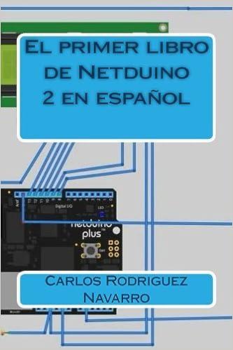 El primer libro de Netduino 2 en español (Spanish Edition): Carlos Rodriguez Navarro: 9781505222036: Amazon.com: Books