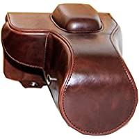 zdMoon Coffee Leather Camera case cover pouch bag Grip For Nikon D3100 D3200 D3300