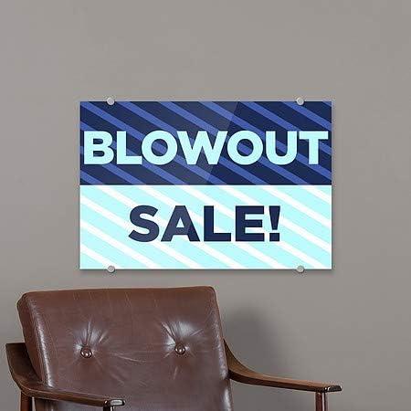 Sale 27x18 CGSignLab Basic Teal Premium Brushed Aluminum Sign