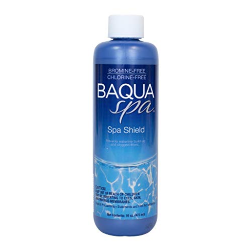 (Baqua Spa 88839 ScumShield Clarifier Spa Maintenance, Clear)