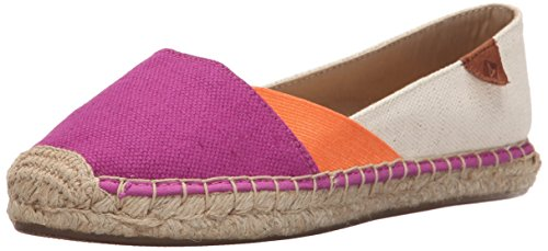 Blocco Sperry Delle Arancio Brillante Top Mantello Brillante Donne Katama Piatto Rosa Balletto sider CXfr0xC