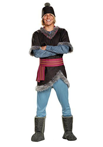 Disguise Men's Frozen Kristoff Costume, Multi, X-Large