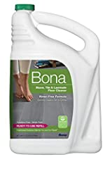 Bona Stone Tile & Laminate Floor Cleaner Refill fills your empty Bona cartridge or spray bottle with ready-to-use Bona Stone Tile & Laminate Floor Cleaner. The bottle has splashless technology, and the handle and side grip allow for a...