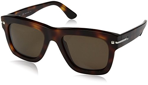 Valentino Valentino Women's Sunglasses V702s, Brown, 52