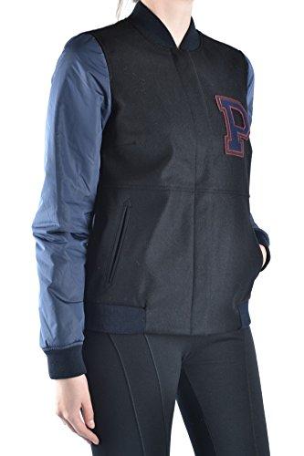 Peuterey Femme MCBI235049O Bleu/Noir Laine Blouson