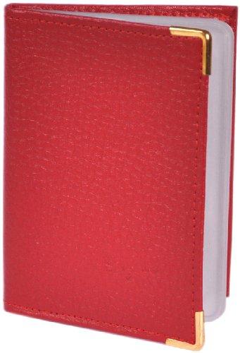 Portrait Format Cartes Rouge Porte Paysage Ou contenance 20 cartes Eax7xqw5gf