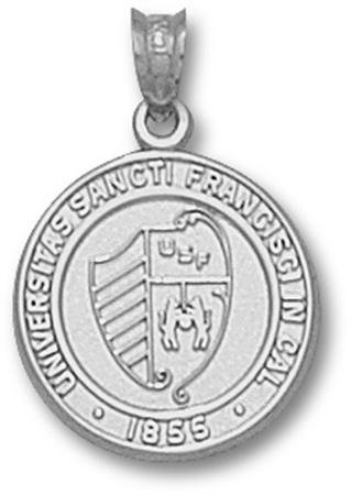 University of San Francisco Seal Pendant (Silver)