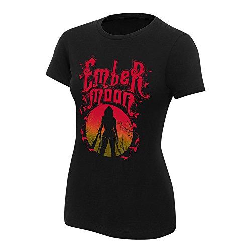 WWE Ember Moon A Myth Rises Women's T-Shirt Black Medium