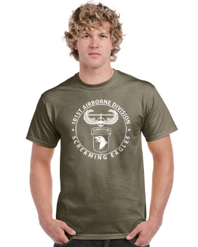 Pro Art Shirts Men's 101st Airborne T-Shirt 2XLarge Army