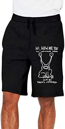 ダニエル・ジョンストン Daniel Johnston ハーフパンツ ショートパンツ フィットネス スポーツ ランニング 吸汗速乾 ズボン カジュアル メンズ