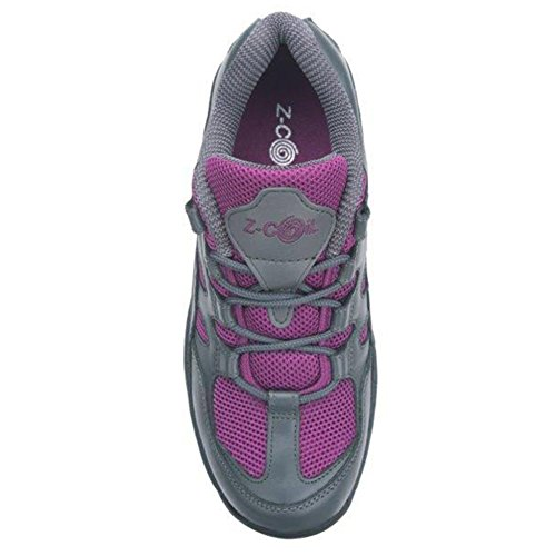 Z-CoiL Women's Freedom Slip Resistant Enclosed CoiL Fuchsia Leather Tennis Shoe 8 C/D US by Z-CoiL (Image #4)