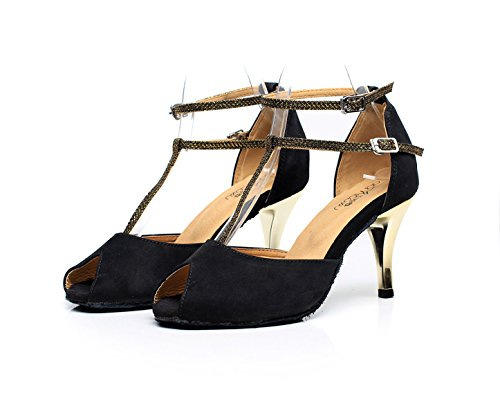 De Strap Black Talons T Hauts Chaussures Sandales De Salsa heeled7 Moderne Chaussures Danse Chacha Our42 Womens Jazz JSHOE Tango EU41 Samba 5cm UK7 E7TZwq4xE