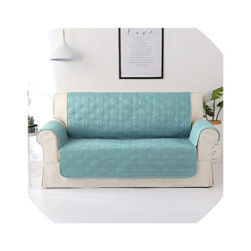 Sofa Slipcovers 100% Waterproof Sofa Cover for s Cat Pets Kids Armchair Couch Slipcover niture Loveseat Seater Armchair Anti Slip Sofa Mat,Lake Blue,90X75In 229X191Cm