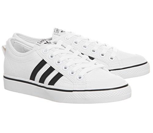 Scarpe Adidas Sneakers Nizza CQ2333 Bianco WHITE Uomo fpqF1