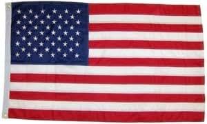 2x 3Pie tradicional algodón americano bandera de Estados Unidos