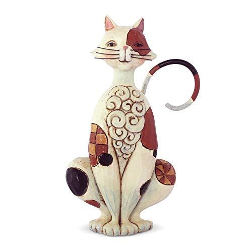 Enesco Jim Shore Heartwood Creek Mini Cat Figurine