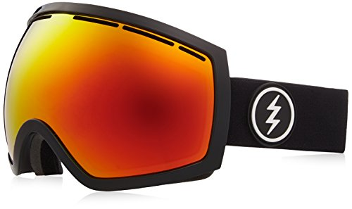 (Electric Visual EG2 Gloss Black/Brose Red Chrome Snow Goggle)