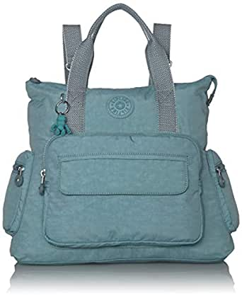Kipling Alvy 2-in-1 Convertible Tote Backpack, Aqua Frost