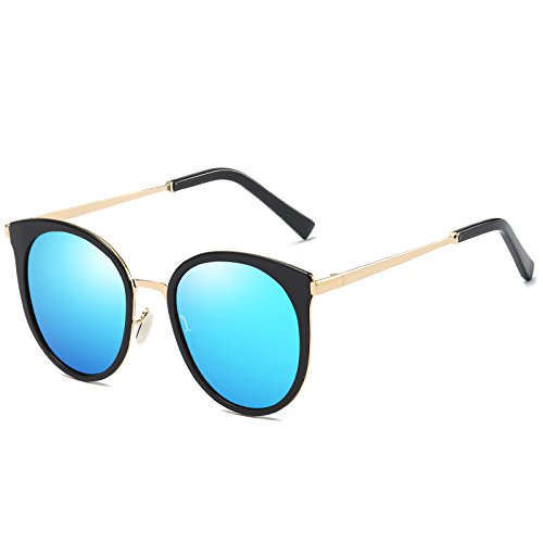 regalo Cara Femeninas Sol Polarizadas Tiro Gafas Redonda San Azul Calle Mujer De Gris Y Valentín Llztyj gafas Negro Rosa día Sol decoración OYqwf