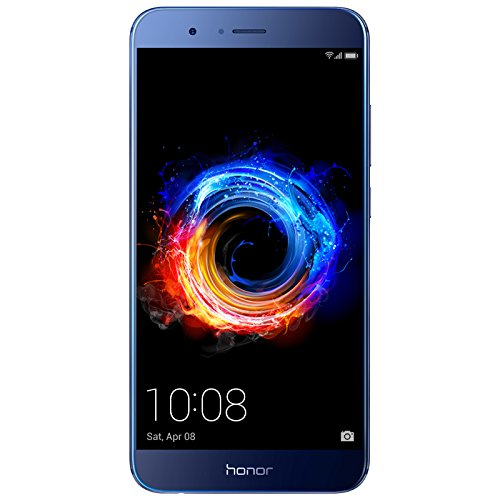 Honor 8 Pro Smartphone débloqué 4G Ecran 5 7 Pouces 64 Go Double Nano SIM Android 7 0 Bleu