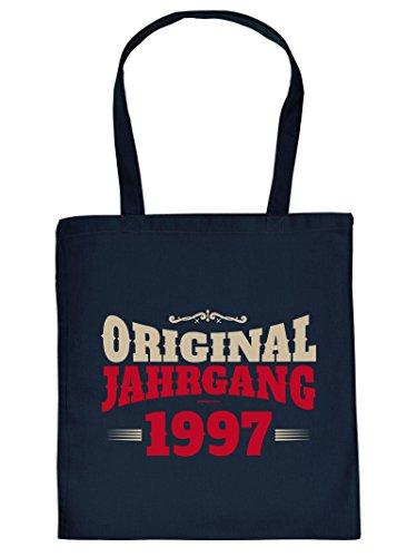 ORIGINAL JAHRGANG 1997 :Tote Bag Henkeltasche. Beutel mit Aufdruck. Tragetasche, Must-have, Stofftasche, Geschenkidee