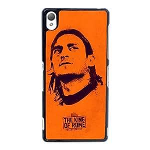 Sony Xperia Z3 Cell Phone Case Black Associazione Sportiva Roma Francesco Totti Fourteen YT3RN2593413