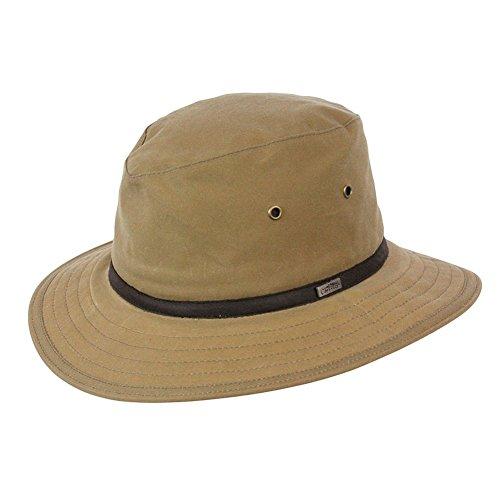 Conner Hats Men's Portland Rain Hat, Tan, L