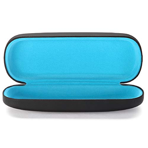 ALTEC VISION Glasses Case - Fits Small Medium Sunglasses - Black/Blue