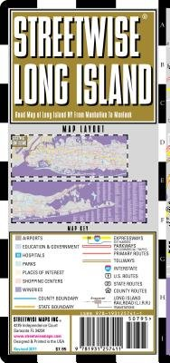 Streetwise Long Island Map - Laminated Regional Road Map of Long Island, New York: Folding Pocket Size Travel Map   [MAP-STREETWISE LONG ISLAND MAP] [Folded Map] pdf epub