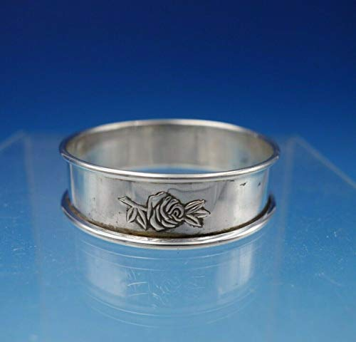 - Classic Rose by Reed and Barton Sterling Silver Napkin Ring Orig 1 3/4
