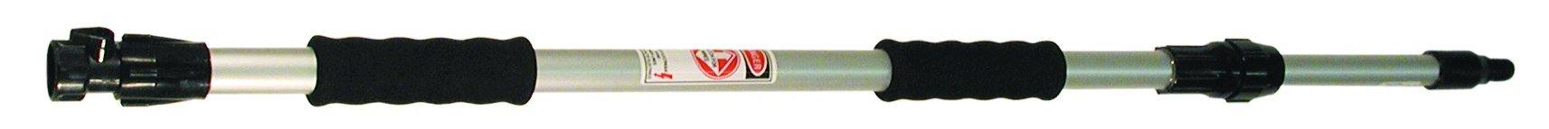 Magnolia Brush FEH-60 2 Piece Aluminum Flow-Thru Extension Handle, 1'' Diameter, 3' to 5' Extends (Case of 12)