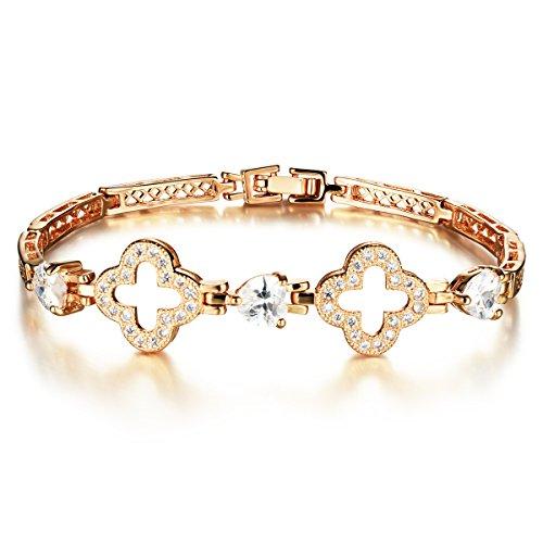 [Tiffinys Jewelry Zircon Diamond Love Bracelet For Women] (Diy Pageant Girl Costume)