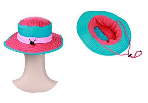 Hat Boonie Rosa Rojo libre libre Cubo aire Ahatech Ligero Oto Al Sombrero aire Transpirable Invierno o Pesca al 1f7Bfx