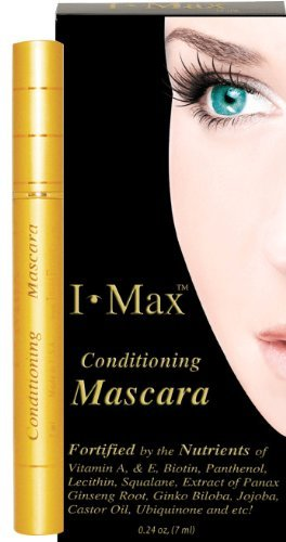 I Max Conditioning and Protecting Lashes Mascara gold. Easy Wash Off. Non-Waterproofing