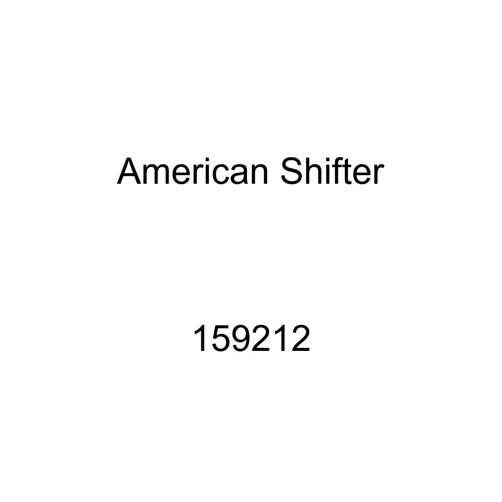 American Shifter 159212 Clear Retro Metal Flake Shift Knob with M16 x 1.5 Insert Yellow 3 Speed Overdrive