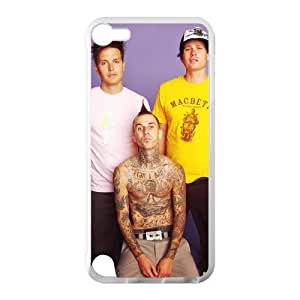 Music Band Blink 182 Background Hot Fashion Design Case for IPod Touch 5 TPU (Laser Technology) Style 03