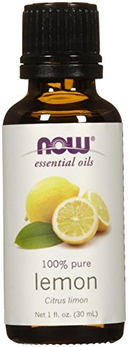 - Now Foods Essential Oils Lemon, 1 fl oz 30 ml (7565)