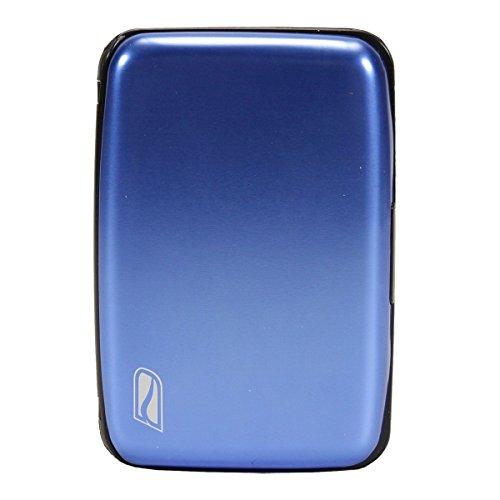 Ducti RFID Blocking Aluminum Credit Card Case (Blue)