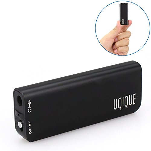 Digital Voice Recorder USB by Uqique - Portable Small Record