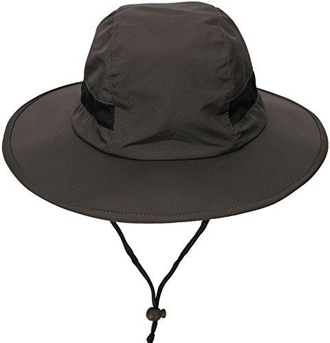 AbbyLexi Mens UPF 50+ Cap Summer Sun Hat for Fishing, Hiking, Camping, (Upf 50 Booney Hat)