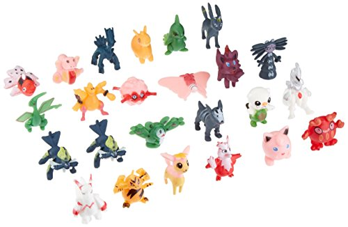 Pearl Figure Toy - b306 Hot 24 Pcs Random 2-3cm Lovely Pokemon Monster Action Mini Pearl Figures Toys